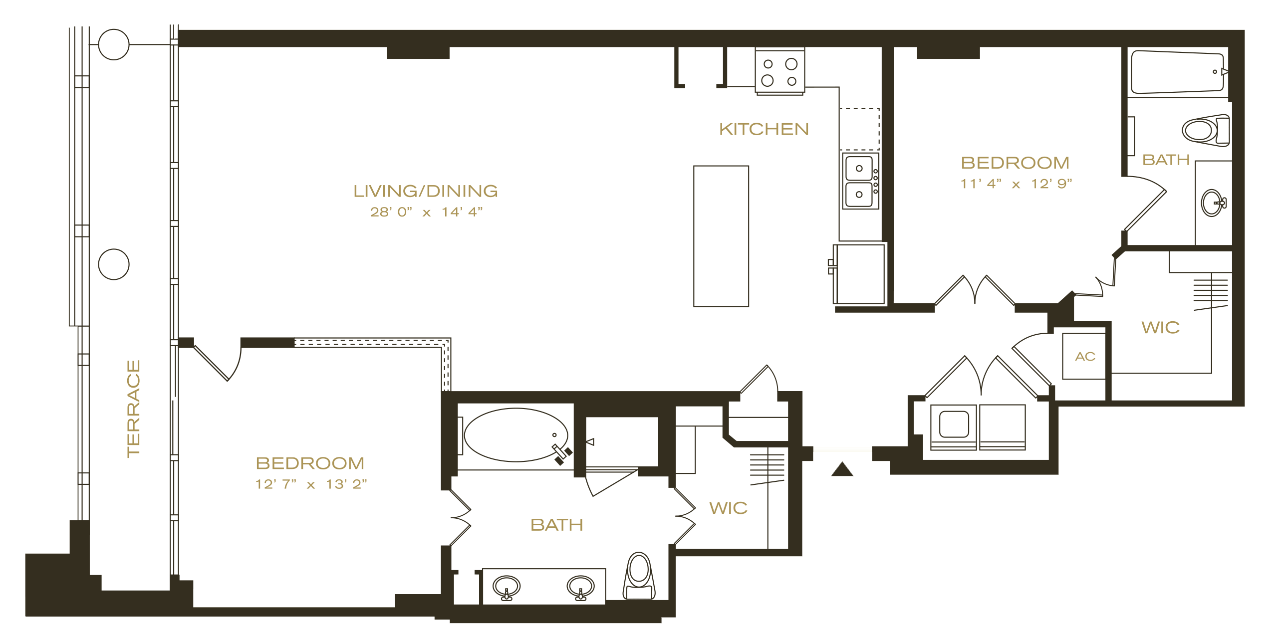 Uptown Dallas Apartments The Ashton Home 2010 Town And Country 3 8 Engine Diagram Penthouse