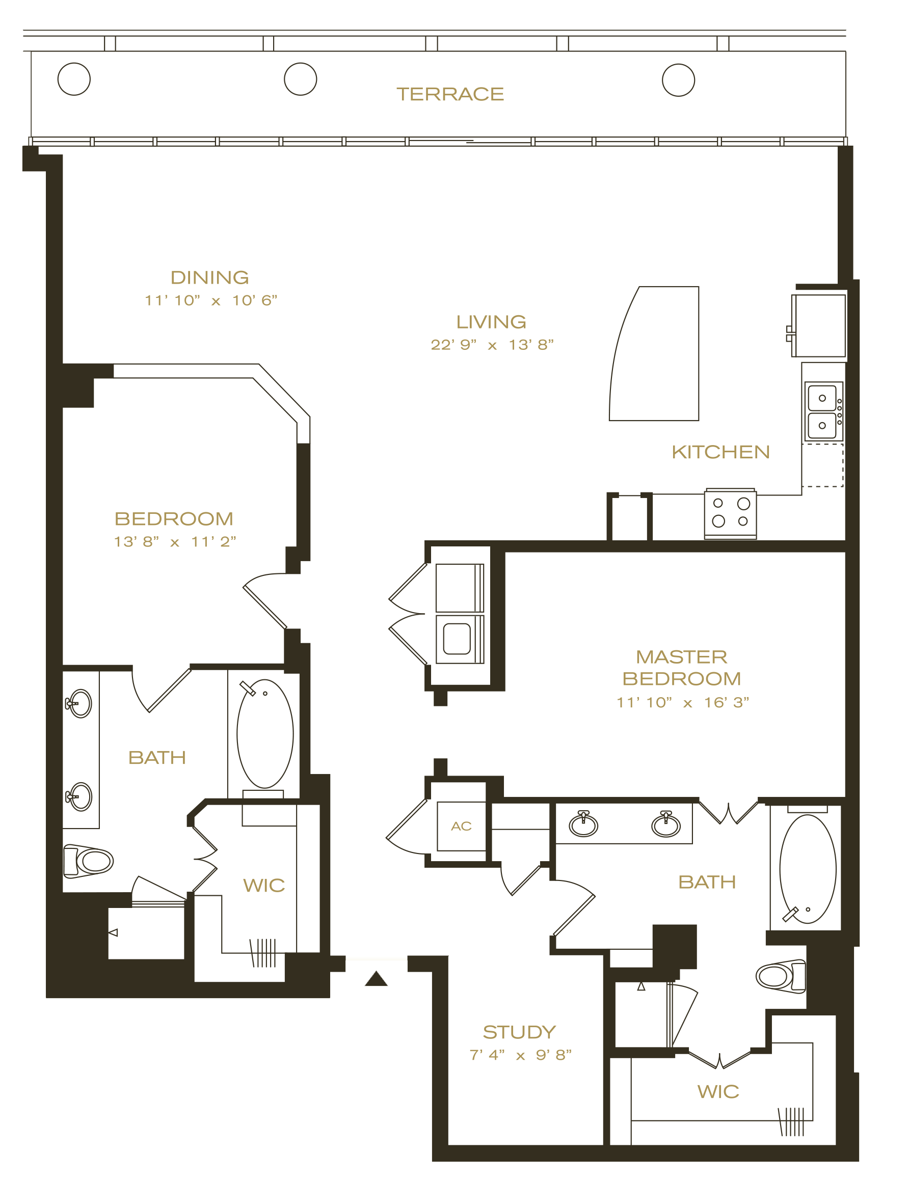 Uptown Dallas Apartments The Ashton Home 2010 Town And Country 3 8 Engine Diagram Penthouse 7