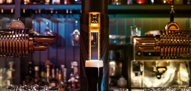 Treat Yourself to a Guinness at the Playwright